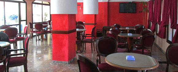 Cafetería del Hotel Zelis en Asilah