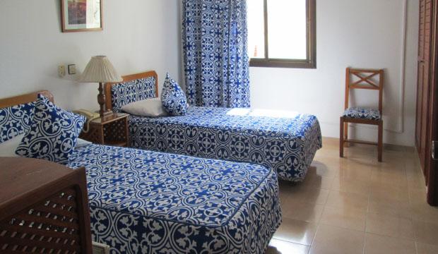 Habitación del Hotel Zelis en Asilah