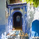 Riad Assilah en Chaouen. Entrada