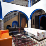 Riad Assilah en Chaouen. Salón