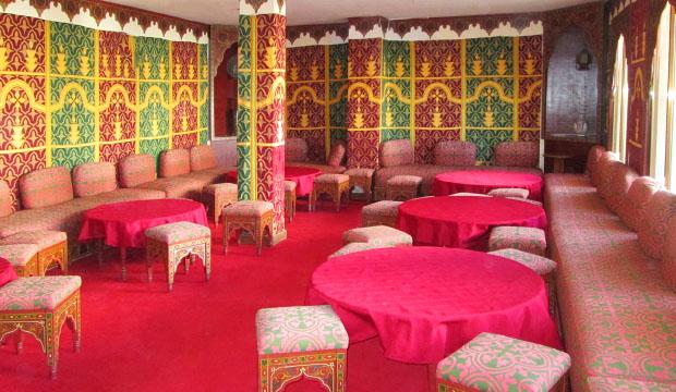 Salón del Hotel Zelis en Asilah
