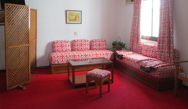 Suite del Hotel Zelis en Asilah