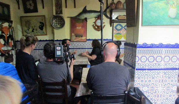 Destinos de Película en Marruecos rodando en el interior de Le Saveur du Poisson