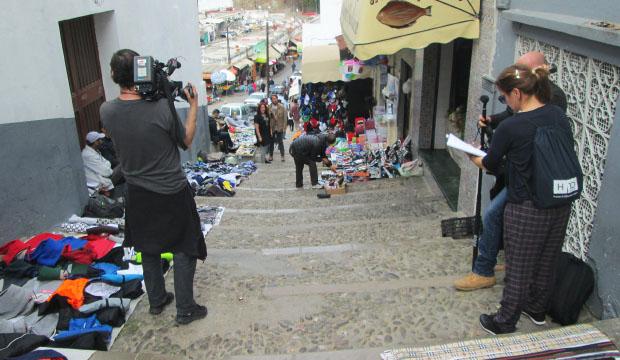Destinos de Película en Tánger rodando en la medina