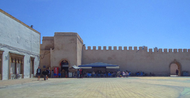 El Café Bachir es el mejor lugar donde tomar té en Essaouira