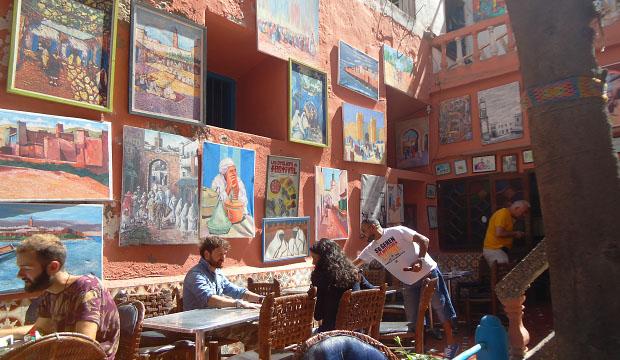 La Patisserie Driss es uno de los mejores lugares donde comer en Essaouira para desayunar