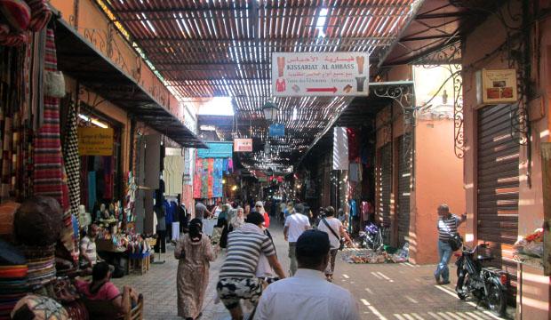 Los zocos será lo primero que conozcamos el segundo día que visitemos Marrakech