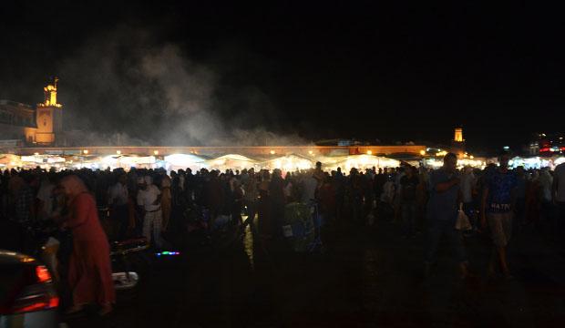 Plaza Jemaa El Fna de noche