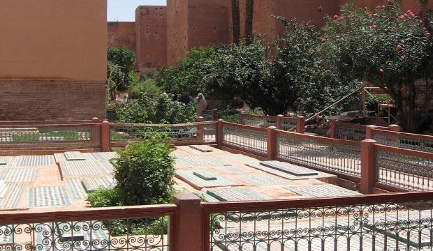 Si queremos saber qué ver en Marrakech en dos días el primero de ellos deberíamos visitar las Tumbas Saadíes