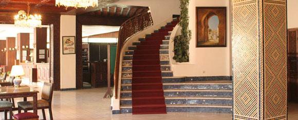 Distribuidor del Hotel Chellah