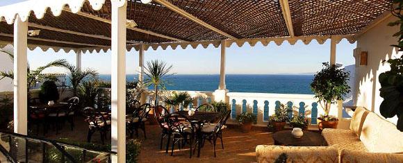 Terraza del Riad La Tangerina