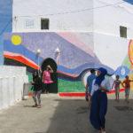 Asilah. Mural en paseo marítimo