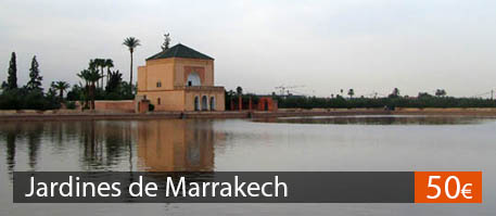 Excursion Jardines de Marrakech