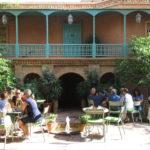Jardines Majorelle. Café