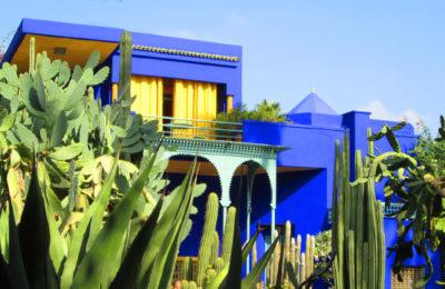 Los Jardines Majorelle en Marrakech (Marruecos)