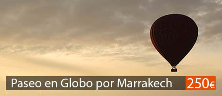 Paseo en globo por Marrakech