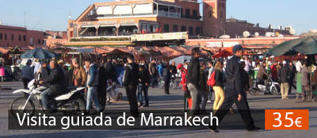 Visita guiada de Marrakech