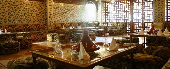 Salón del Hotel Tanjah Flandria