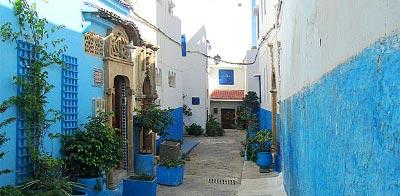 Guía de Rabat. Kasbah de los Oudayas