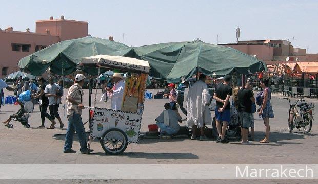 Guía de turismo en Marrakech (Marruecos)