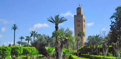 Información de Marrakech. Mezquita Kutubia