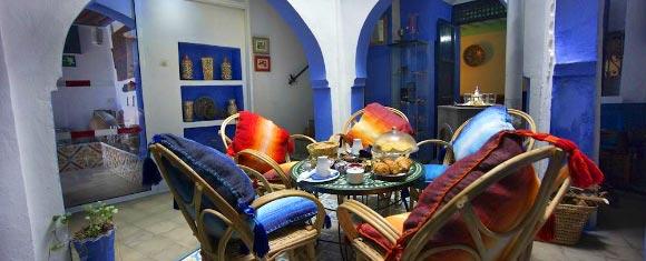 Patio del Riad Casa Miguel