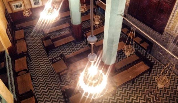 La Sinagoga Ibn Danan es la sinagoga más famosa de Fez