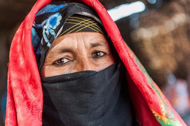 Fotos de nómadas. Imagen de persona nómada