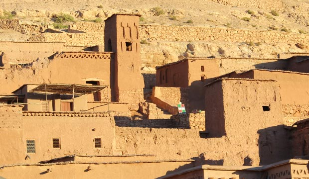 Aït benhaddou es una kasbah de Ouarzazate