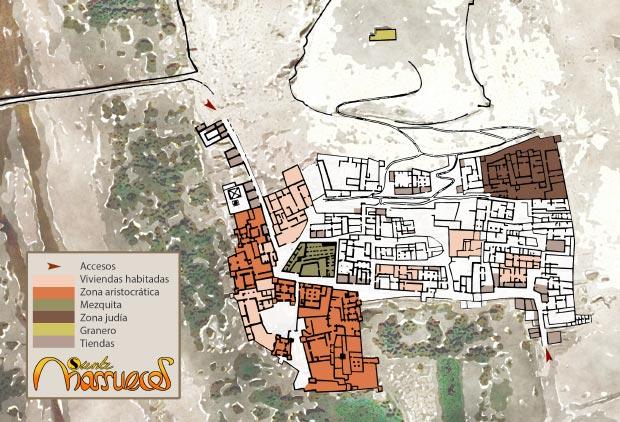 Mapa de Ait Ben Haddou