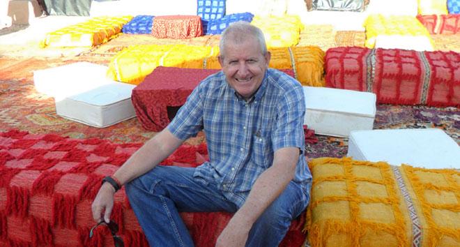 Christian Kratzer, experto en Marruecos y que también trabajó junto con Jose Luis Moreno Calín y Berta Perales en Viajes Calín (Sevilla), cuya web es DescubreMarruecos.com