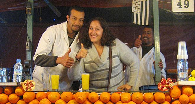 Mariluz Bejarano Villena, experta en Marruecos y que además ha trabajado junto con Jose Luis Moreno Calín y Berta Perales en Viajes Calín en Sevilla, cuya web es DescubreMarruecos com