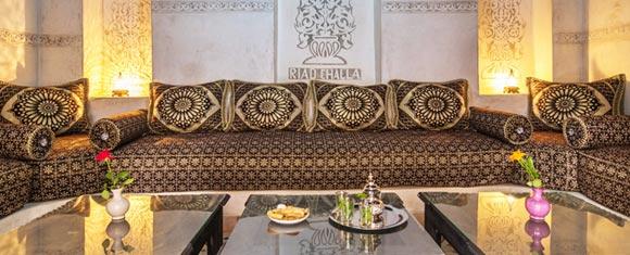 Salón del Riad Challa