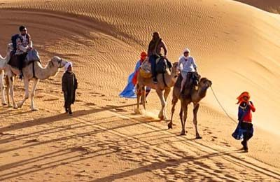 Fin de año en el desierto. Nochevieja en Merzouga