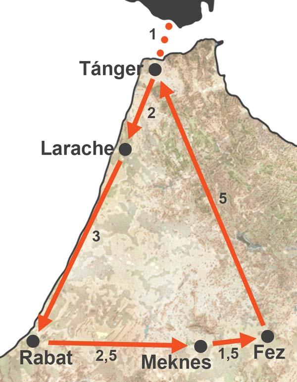 Viaje a Fez, Rabat y Meknes (3 días)