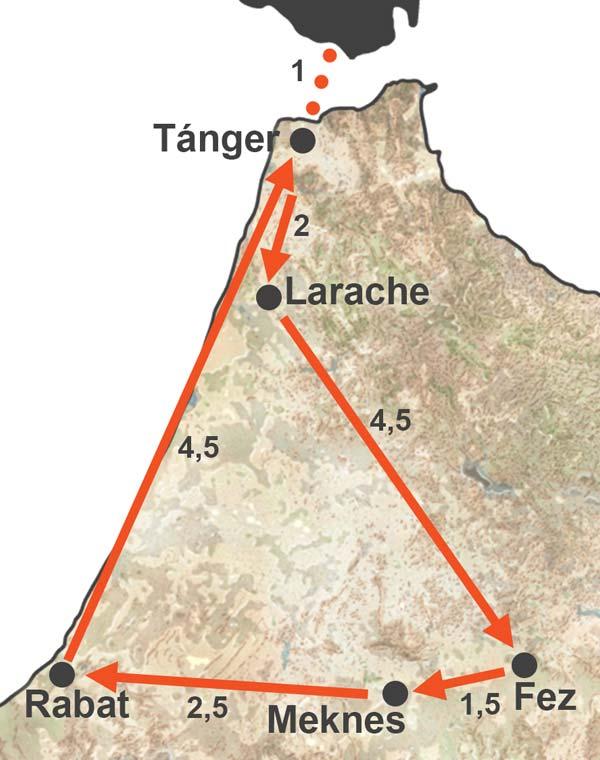 Viaje a Fez, Rabat y Meknes (4 días)