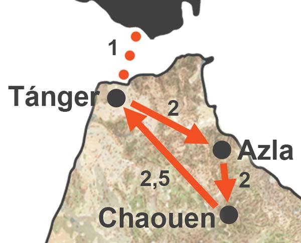 Viaje de senderismo por el Rif o senderismo por Marruecos Norte