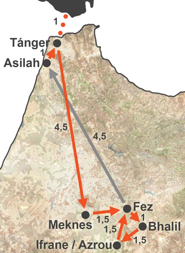 Circuito Secretos de Fez