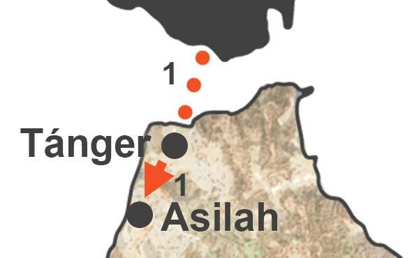 Viaje a Asilah. Escapada a Asilah