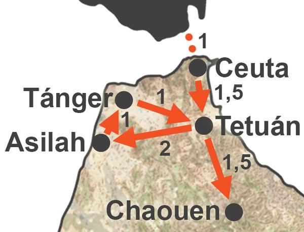 Circuito por el Norte de Marruecos Especial Puente