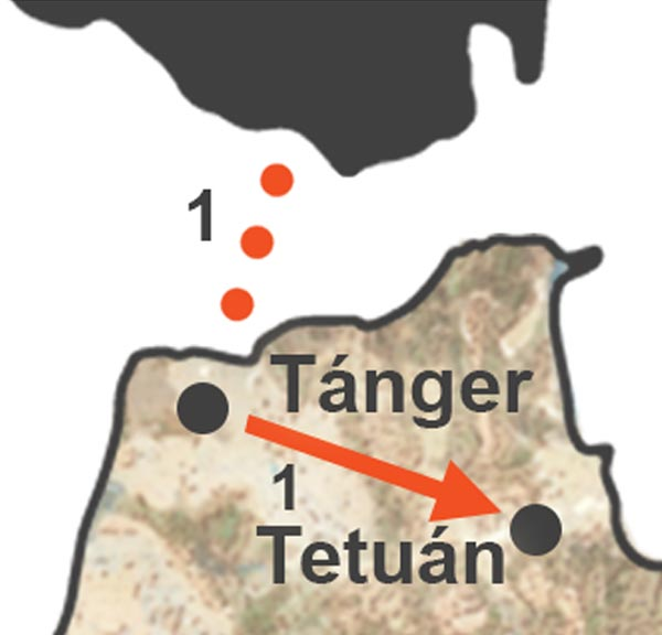 Excursión a Tetuán desde Tarifa