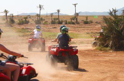 Excursión en quad por Marrakech