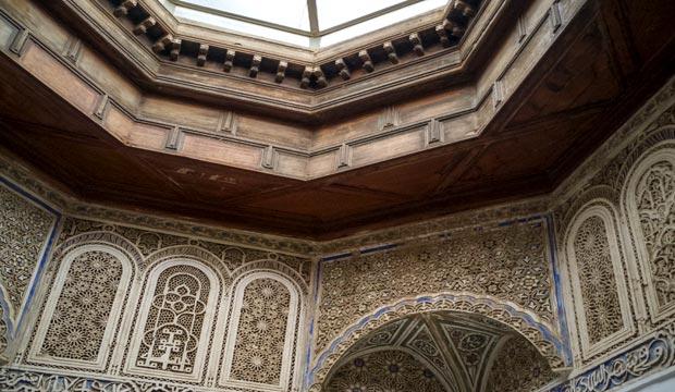 El Ksar El Fida en Er Rissani tiene unos preciosos interiores