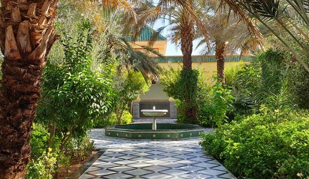 El Mausoleo de Mulay Ali Chérif está situado cerca del mercado de Er Rissani