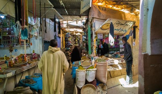 El mercado de Rissani es una visita imprescindible si viajas a la ciudad