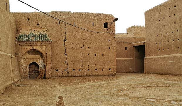 Ksar Oulad Abdelhalim es una kasbah de Rissani que es necesario restaurar