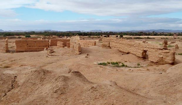 Sijilmasa o Sijilmassa, es una ciudad bereber a las afueras de Rissani (Merzouga)
