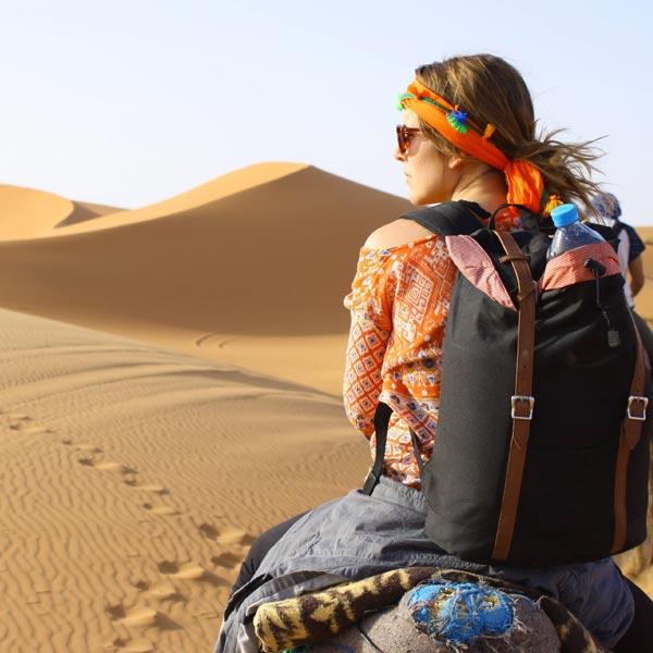 Viaje en privado con dromedario