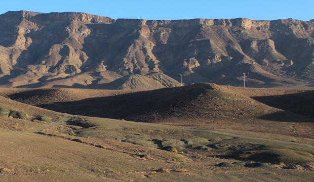 El desierto de Erg Chegaga (Marruecos) tiene como ciudad más cercana mhamid