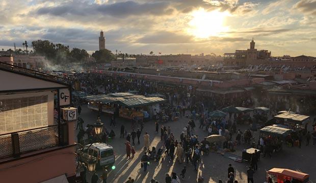 El tiempo en Marrakech Marruecos. Temperatura en Marrakech. Clima en Marrakech. Previsión del tiempo en Marrakech